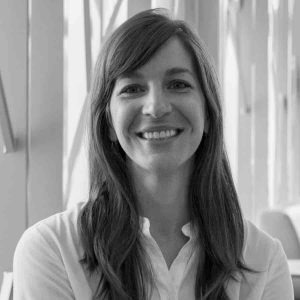 Carolyn Jenkinson headshot in black and white