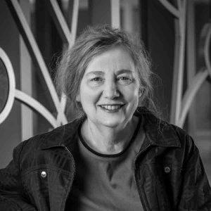 Cynthia Jasper headshot in black and white
