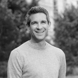 John Zeratsky headshot in black and white