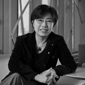 Jung-hye Shin headshot in black and white