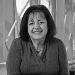 Maria Kurutz headshot in black and white