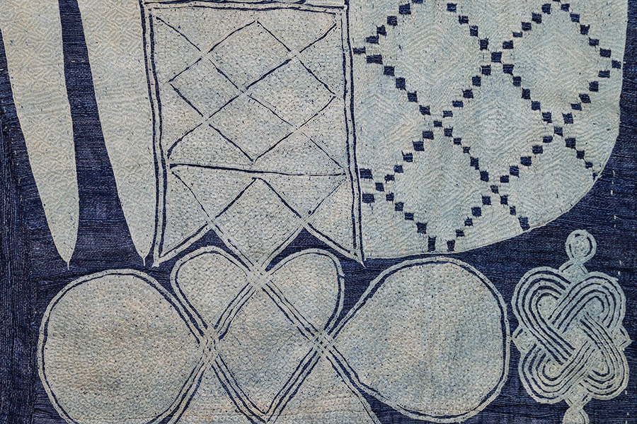 detail of textile