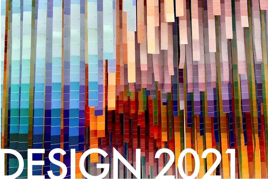 Main logo for Design 2021 exhibition 900x600 crop